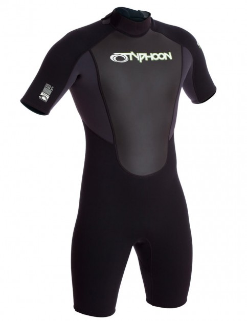 Typhoon Storm Shorty 3/2mm Wetsuit 2016 - Graphite/Black