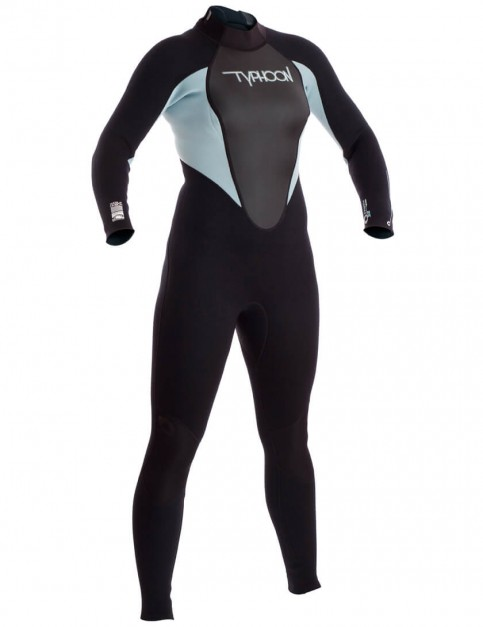 Typhoon Ladies Storm 3/2mm Wetsuit 2016 - Glacier Blue/Black