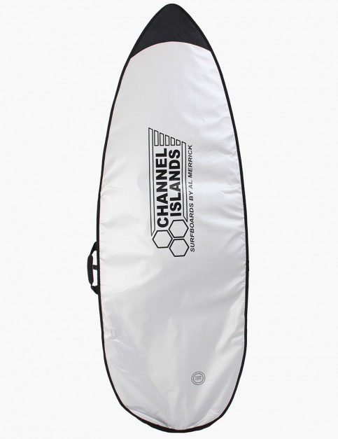 Channel Islands Team Light Shortboard 5mm Surfboard bag 6ft - Silver