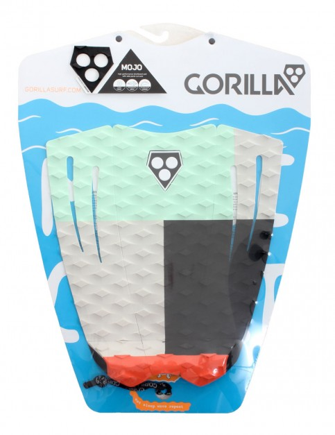 Gorilla Mojo surfboard tail pad - Chunks