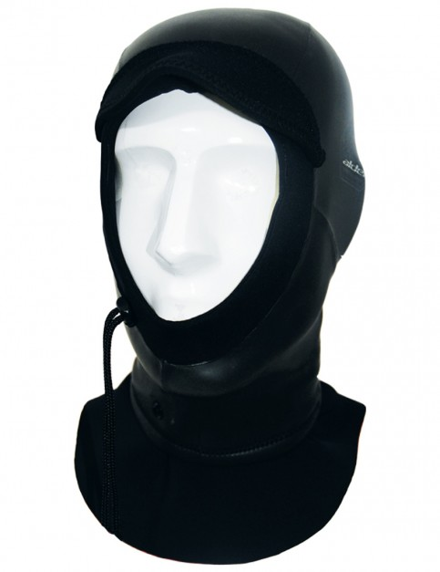 Alder Plasma 2mm Wetsuit Hood - Black