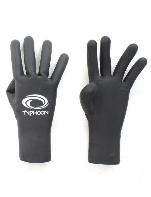 Typhoon Vortex 2mm Wetsuit Gloves - Black