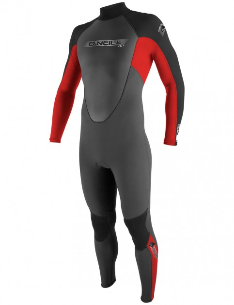 O'Neill Reactor 3/2mm wetsuit 2017 - Graphite/Red/Black