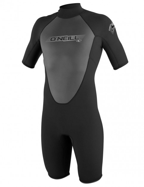 O'Neill Reactor Shorty 2mm wetsuit 2017 - Black/Black/Black