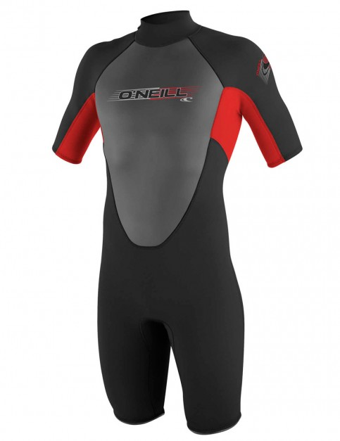 O'Neill Reactor Shorty 2mm wetsuit 2017 - Black/Red/Black