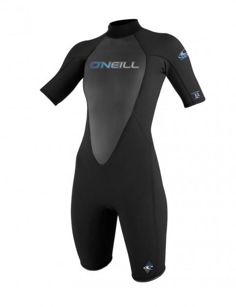 O'Neill Ladies Reactor Shorty 2mm wetsuit 2016 - Black/Black/Black