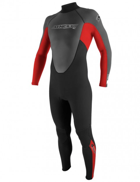 O'Neill Boys Reactor 3/2mm Wetsuit 2016 - Black/Red Graphite