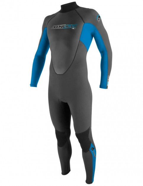 O'Neill Boys Reactor 3/2mm Wetsuit 2017 - Graphite/Brite Blue/Graphite