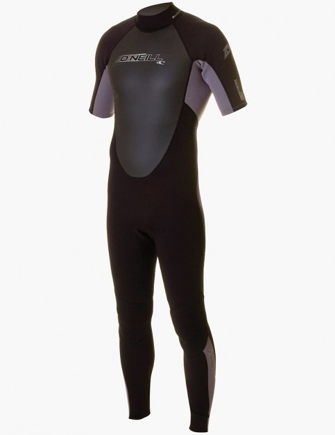 Oneill Wetsuits Reactor Convertible 3/2mm Summer 2014 - Blk/Smoke/Blk