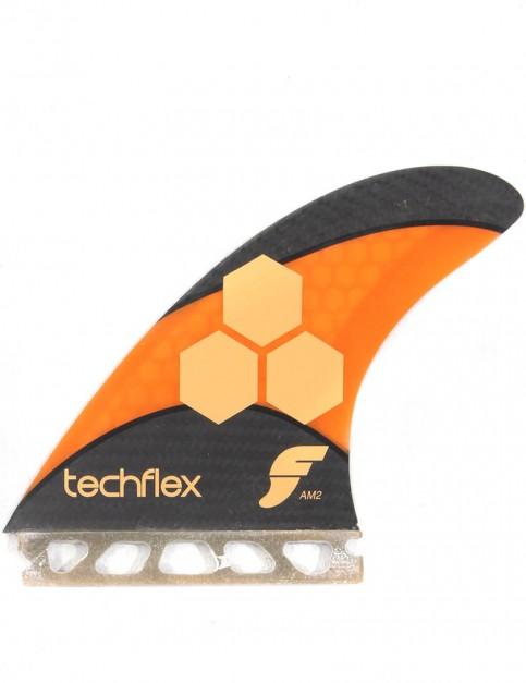 Future Fins Techflex AM2 (Large) Tri fin set - Fluro Orange