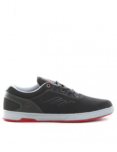 Emerica Westgate CC Shoes - Grey/Red