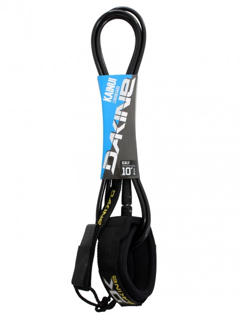 DaKine Kainui Longboard Calf surfboard leash 10ft - Black