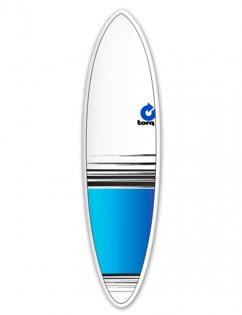 Torq Mod Fun surfboard 6ft 8 - Blue Fade
