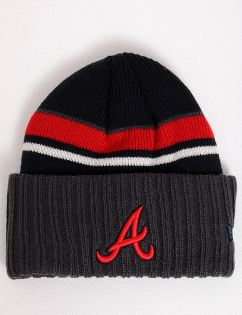 New Era Prep Class Atlanta Braves Cuff beanie - Charcoal/Navy