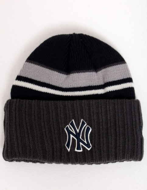 New Era Prep Class New York Yankees Cuff beanie - Charcoal/Navy