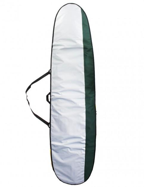 Alder Mal Surfboard Bag 5mm 9ft - Silver/Green