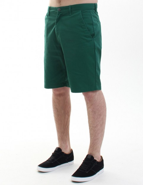 Volcom Frozen Regular Chino shorts - Grass Green