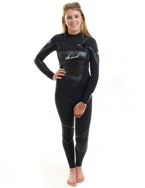 Animal Wetsuits Ladies Antidote OFZ 3/2mm Summer - Black/Pro Blue