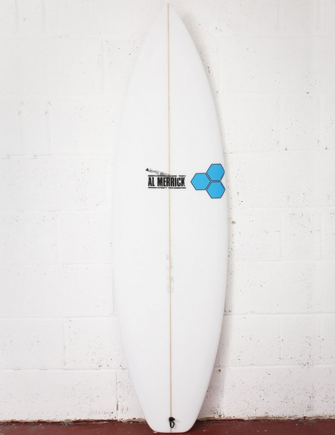 Channel Islands Fred Rubble Surfboard 6ft 2 FCS II - White