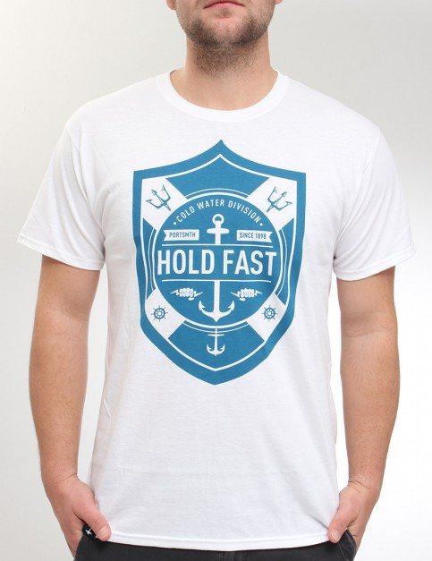 Hold Fast Cold Water Shield T Shirt - White