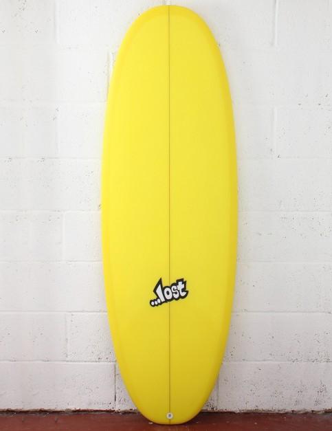 Lost Bean Bag Surfboard 5ft 10 FCS II - Yellow