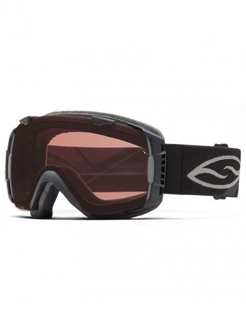 Smith I/0 Snow goggles - Black/Polarized Rose Copper