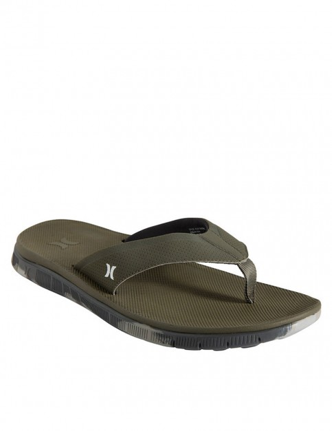 Hurley Flex Sandals - Medium Olive