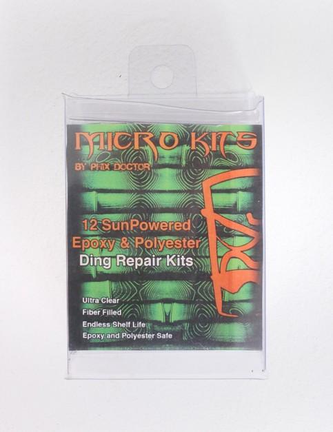 Phix Doctor Micro Kit SunPowered Epoxy and Polyester 12 Pack repair kit