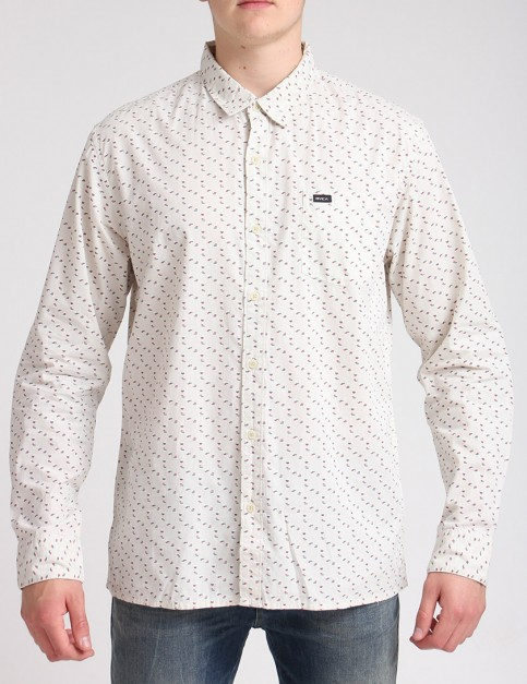 RVCA Fission Shirt - Vanilla