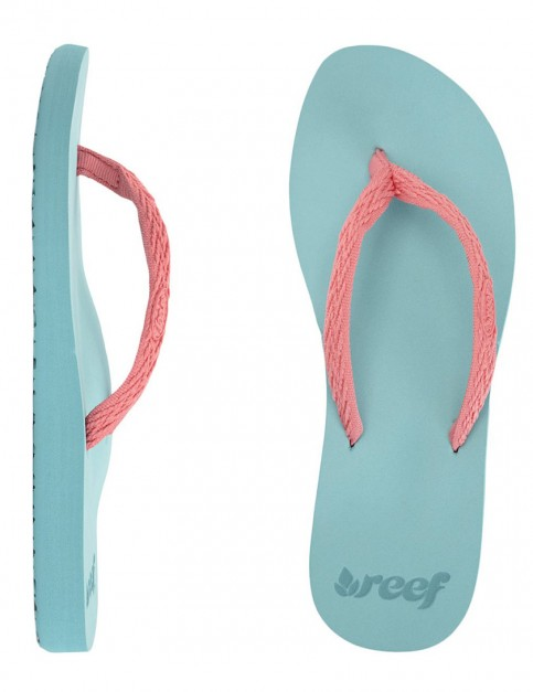 Reef Ginger Drift Ladies flip flops - Teal/Coral