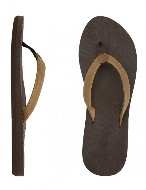 Reef Zen Love Ladies flip flops - Brown/Tobacco