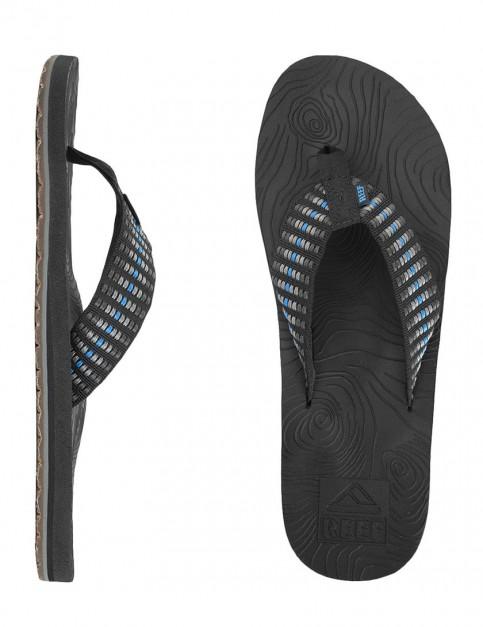 Reef Zen Woven Flip flop - Blue/Grey