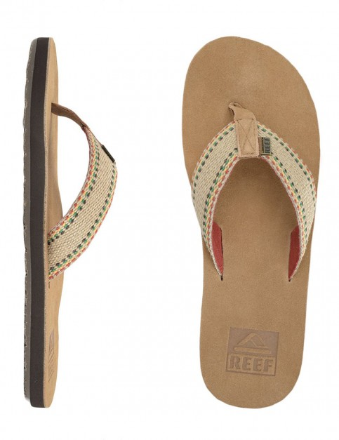 Reef Bingin Leather flip flop - Tan