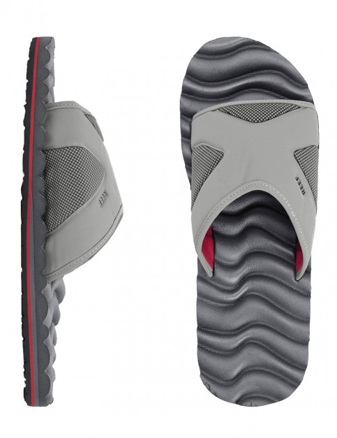 Reef Swellular Slide Sandal - Grey/Red