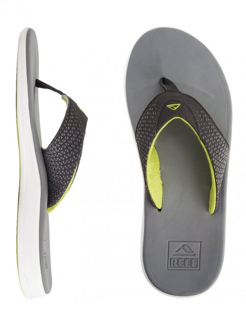 Reef Rover Flip flop - Grey/Yellow
