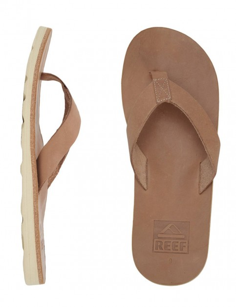 Reef Voyage Leather flip flops - Brown