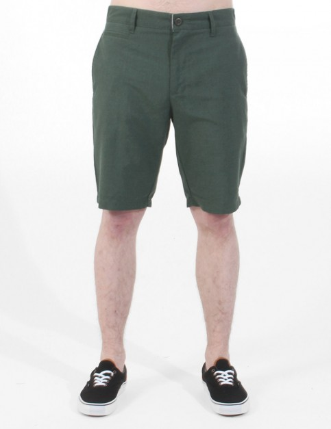 RVCA Marrow III Chino shorts - Jungle Green