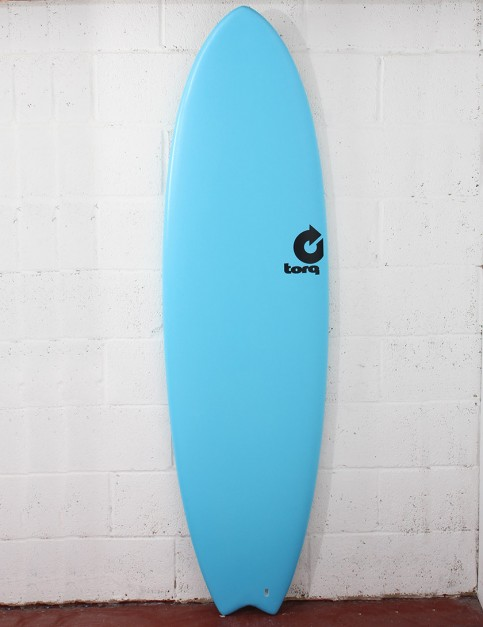 Torq Mod Fish Soft & Hard Surfboard 6ft 6 - Blue