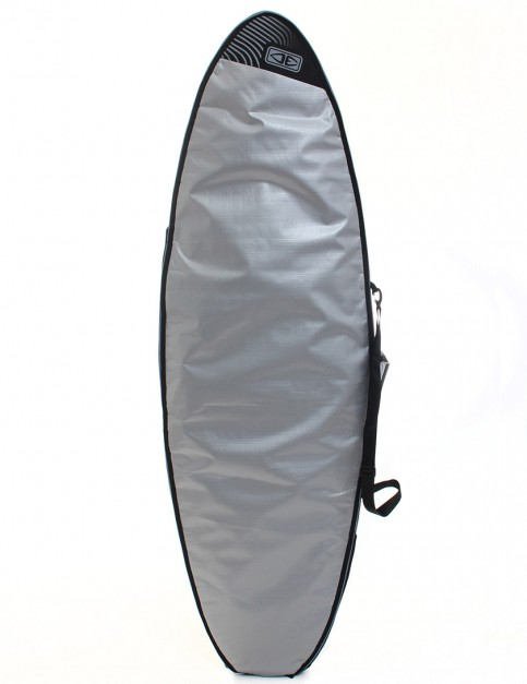 Ocean & Earth Compact Day Fish 5mm Surfboard bag 6ft 8 - Silver