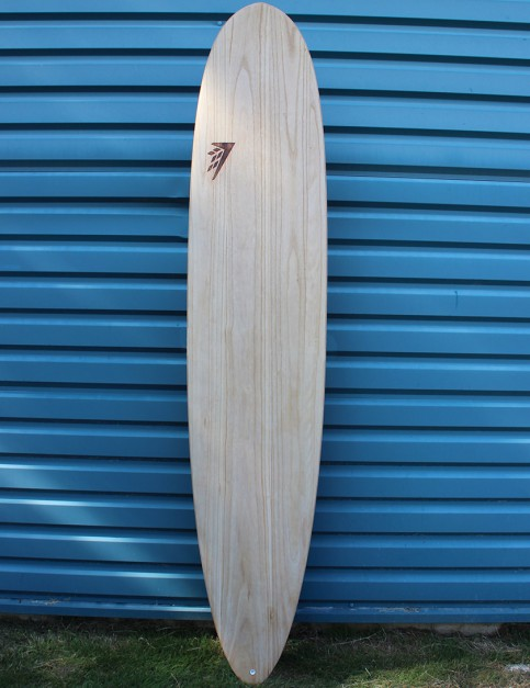 Firewire Timbertek Taylor Jensen Pro Round Tail Surfboard 9ft Futures - Natural Wood