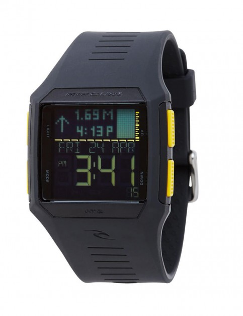 Rip Curl Rifles Tide surf watch - Charcoal