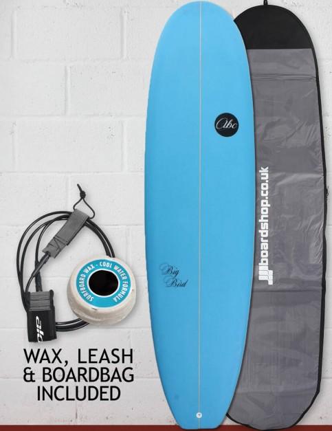 ABC Big Bird mini mal surfboard package 7ft 0 - Blue