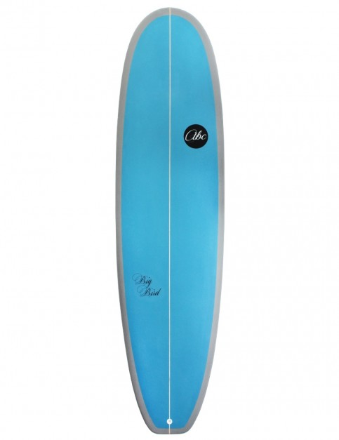 ABC Big Bird Mini Mal surfboard 7ft 4 - Blue/Grey