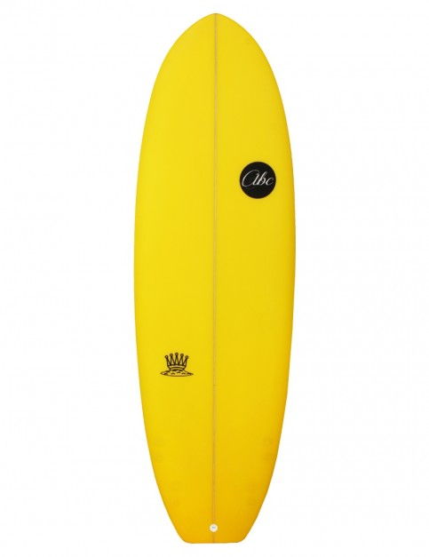 ABC Mash King surfboard 5ft 10 - Yellow