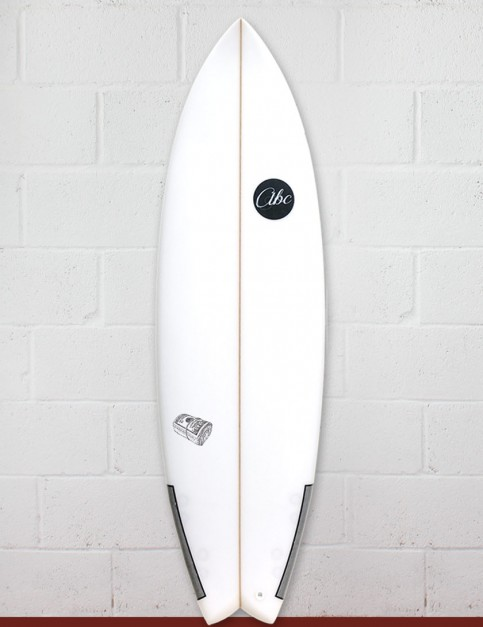ABC Payroll surfboard 6ft 1- White
