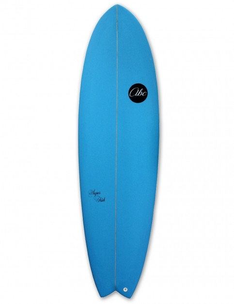 ABC Super Fish surfboard 6ft 6 - Sea Blue