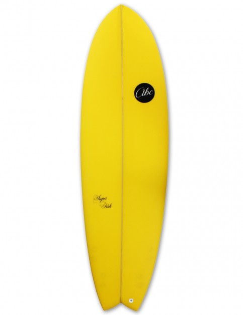 ABC Super Fish surfboard 6ft 6 - Citrus Yellow