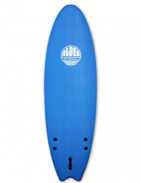 Alder Comp Fish Soft Surfboard 6ft 0 - Royal Blue