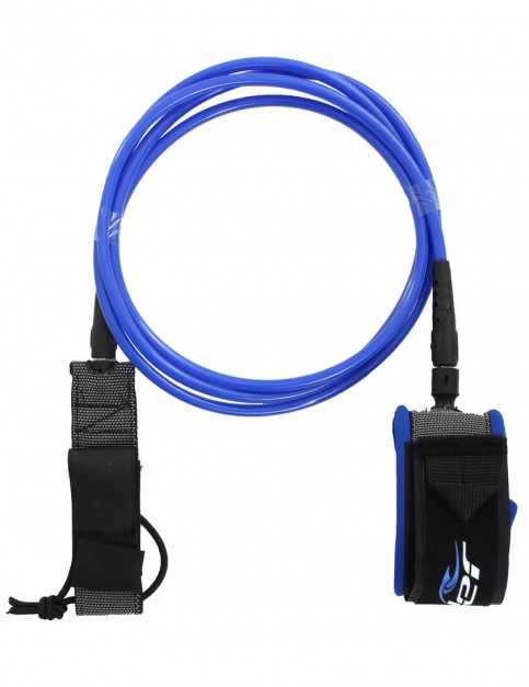 Alder Premium surfboard leash 6ft - Blue