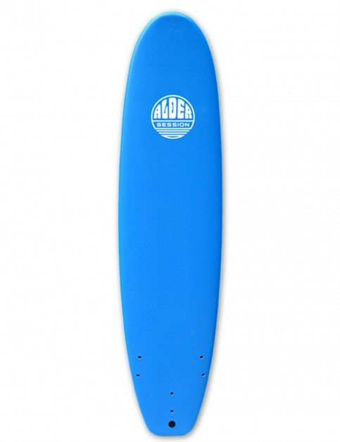Alder Session Soft/Hard Mini Mal Surfboard 7ft 6 - Blue